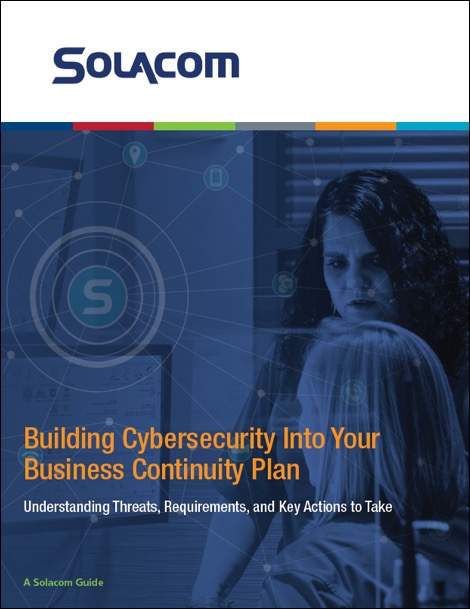 Cybersecurity Business Continuity Guide Front Cover