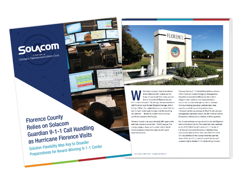 Florence County, a Solacom case study