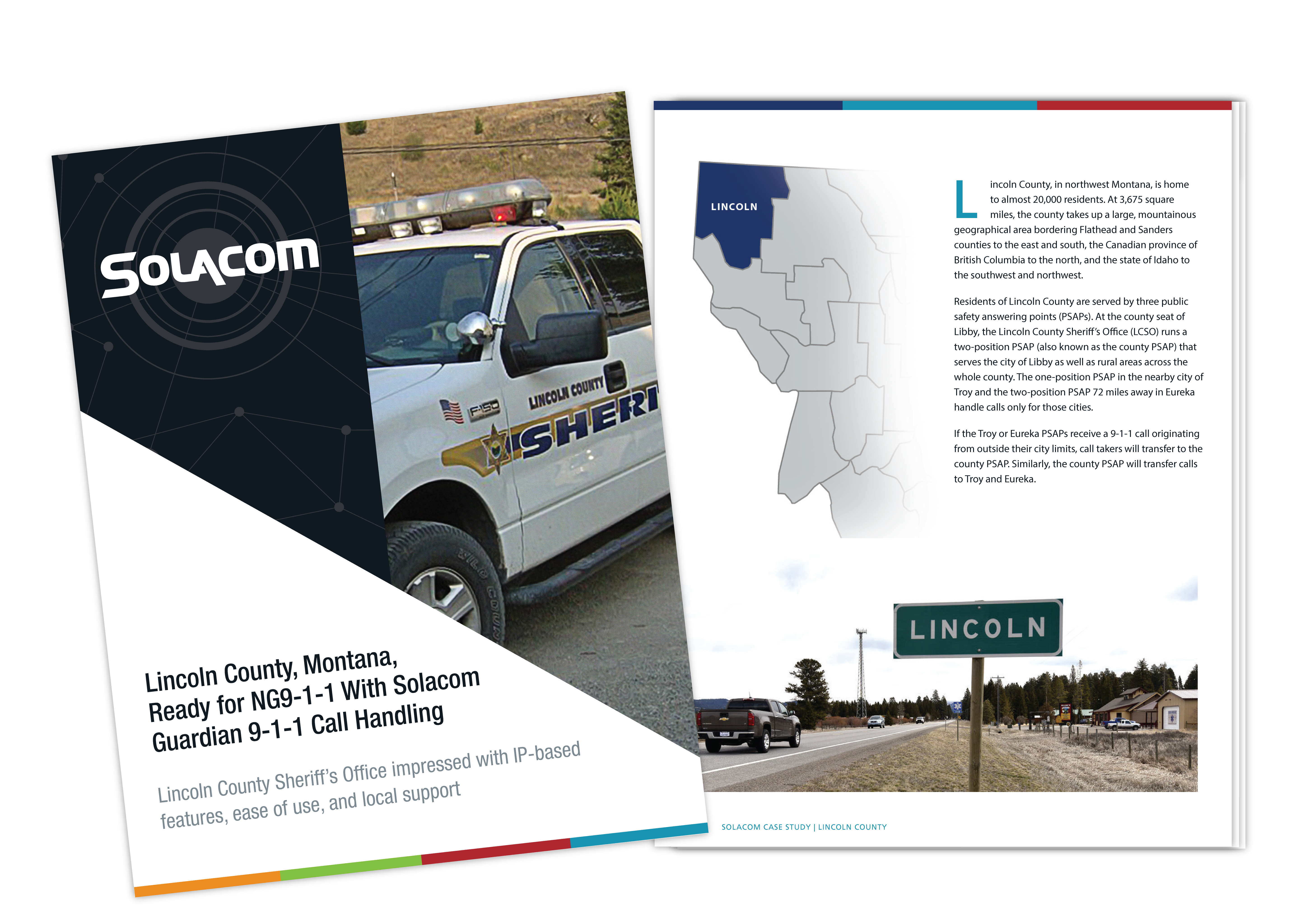 Lincoln County, Montana, Ready for NG9-1-1 With Solacom Guardian 9-1-1 Call Handling, a Solacom case study