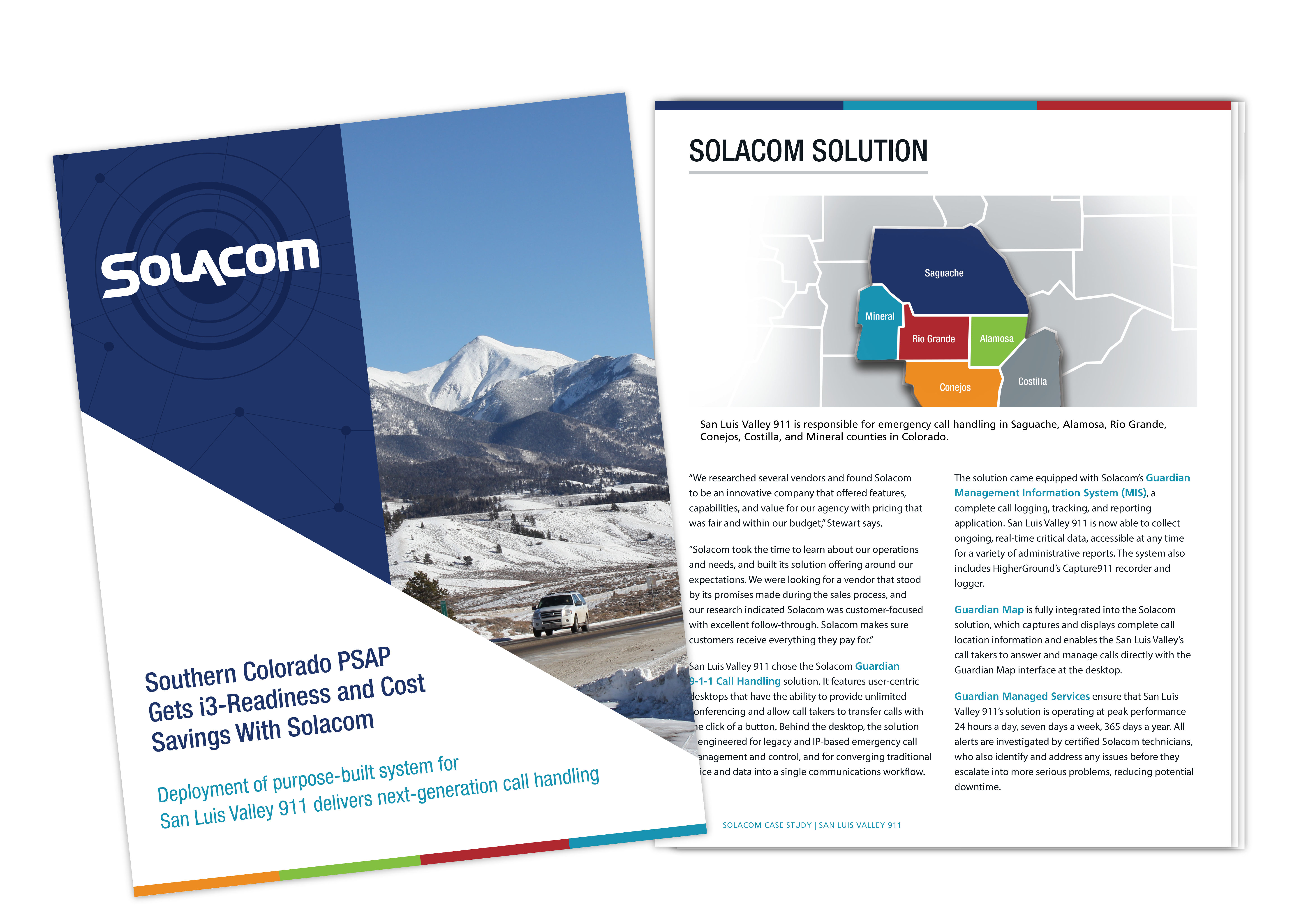 Southern Colorado PSAP Gets i3-Readiness and Cost Savings with Solacom, a Solacom case study