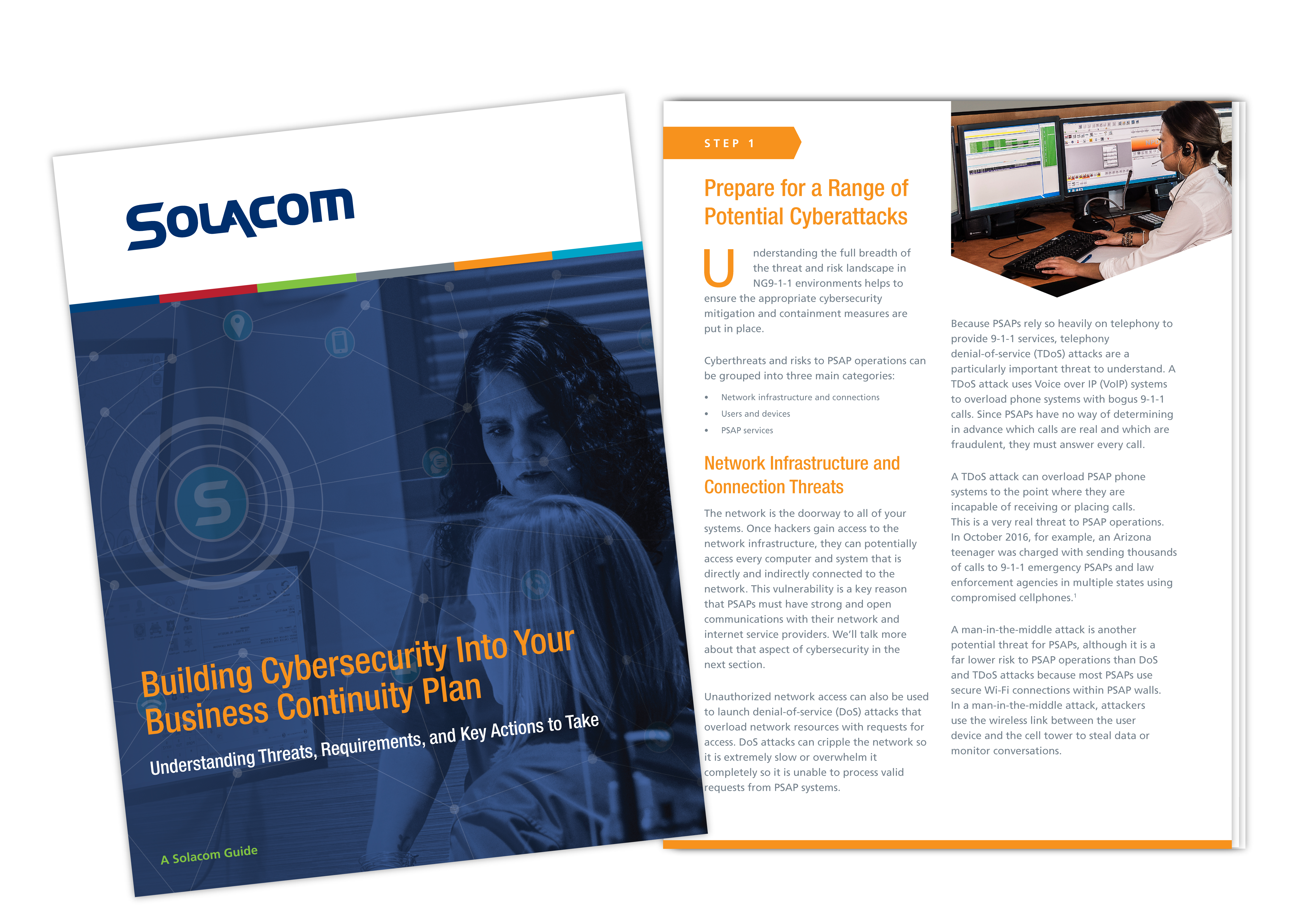 Building Cybersecurity Into Your Business Continuity Plan, a Solacom guide