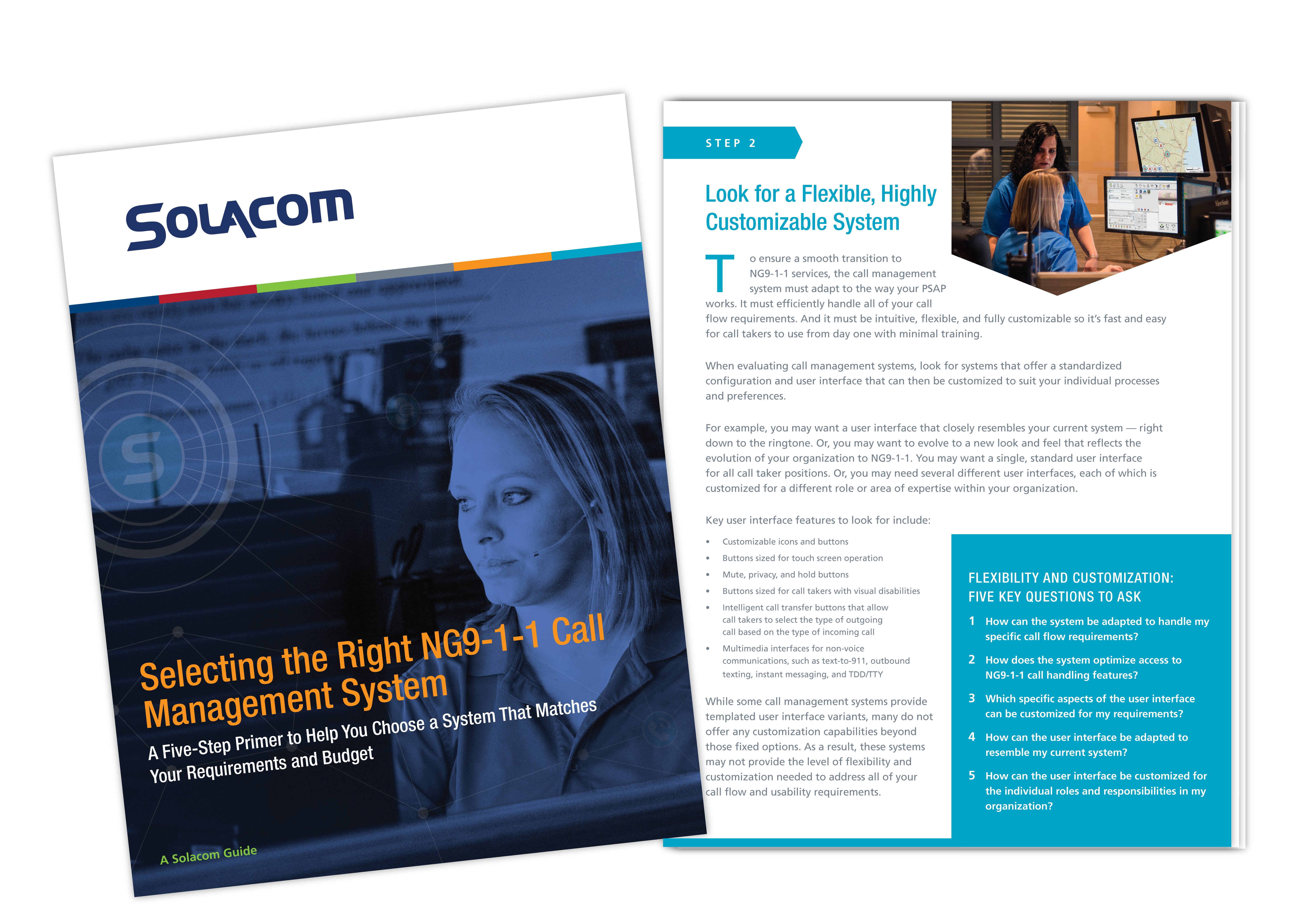 Selecting the Right NG9-1-1 Call Management System, a Solacom guide