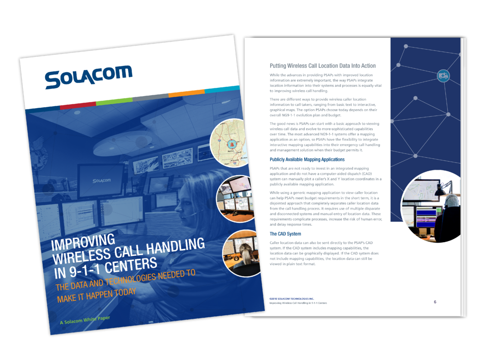 Improving Wireless Call Handling in 9-1-1 Centers, a Solacom white paper