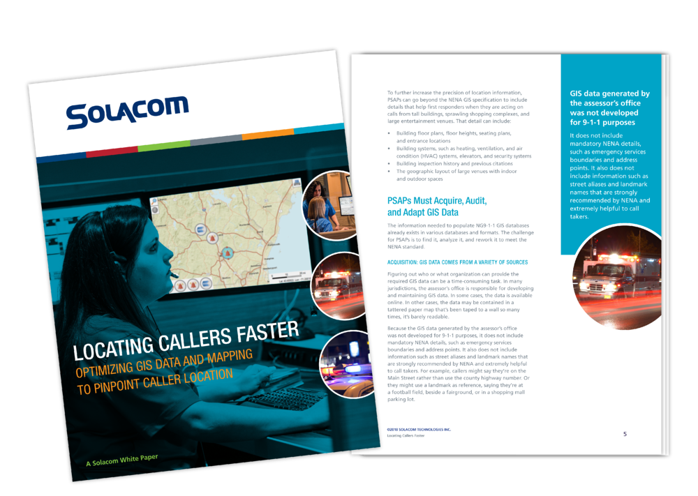 Locating Callers Faster, a Solacom white paper