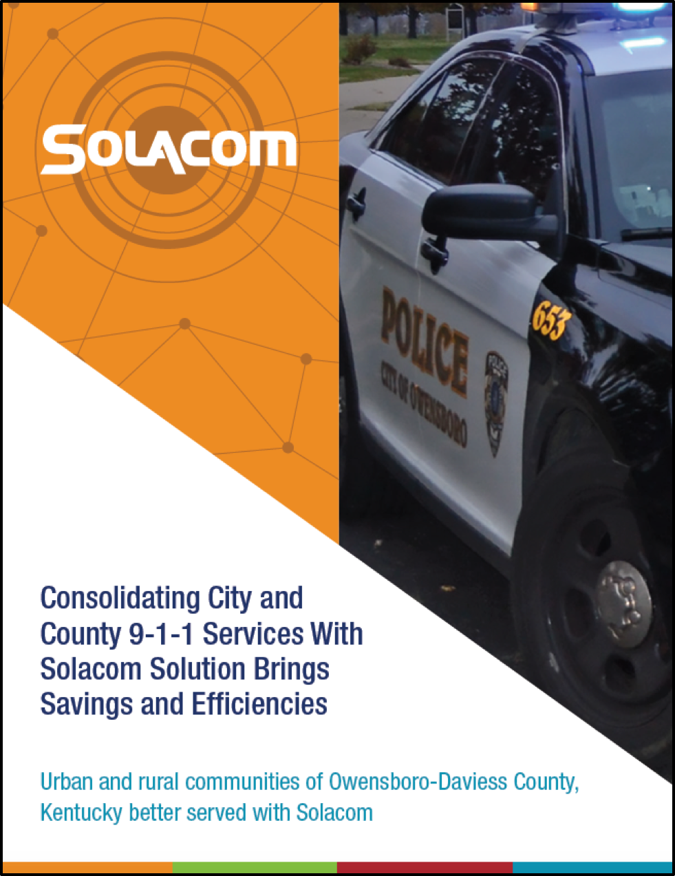 """Solacom """"Consolidating City and County 9-1-1 Services"""" Case Study"""