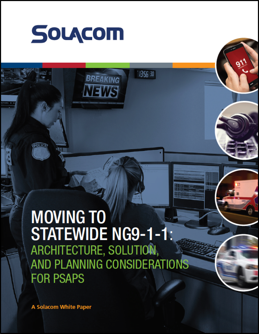 """Solacom """"Moving to Statewide NG9-1-1"""" White Paper"""