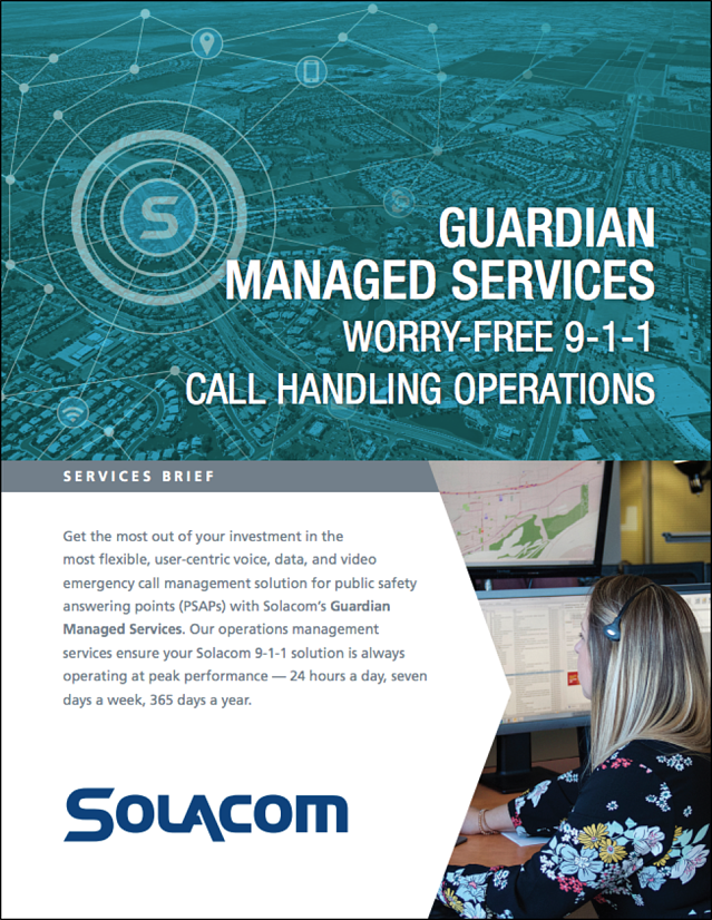 Solacom Guardian Managed Services product brief