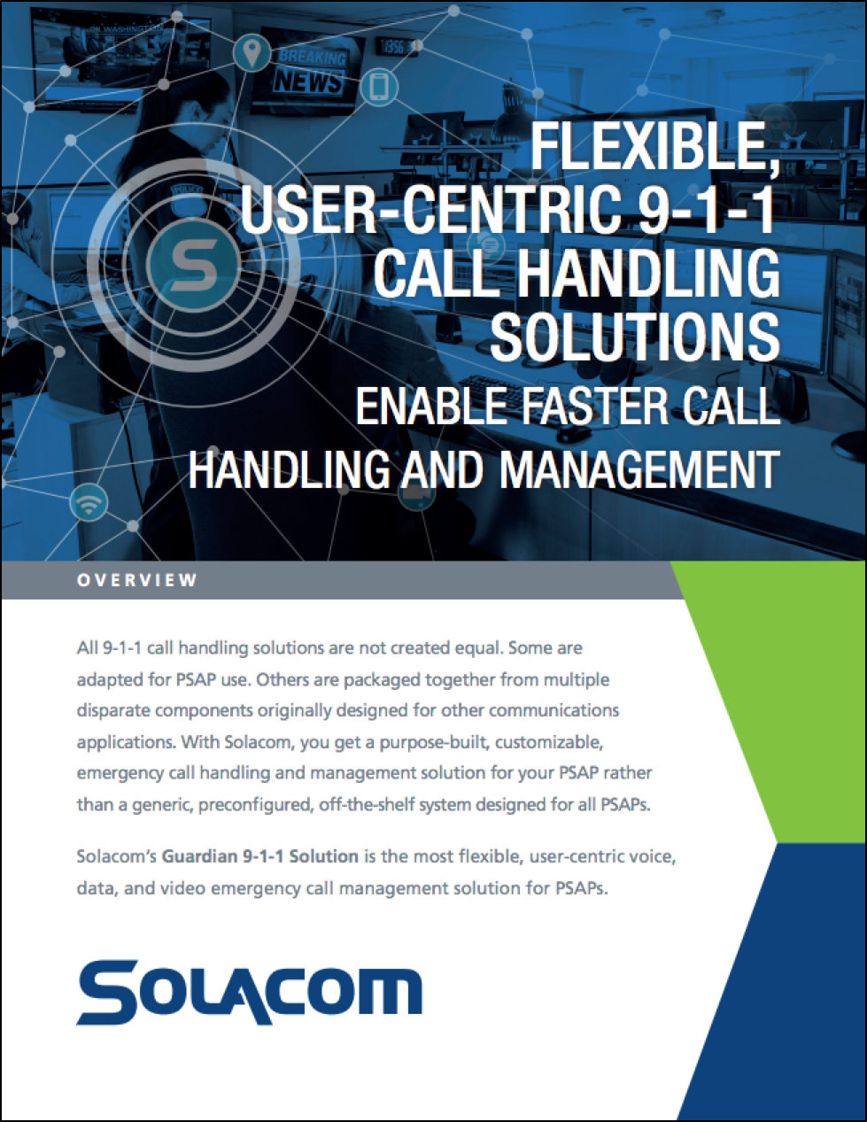 Solacom company overview front page