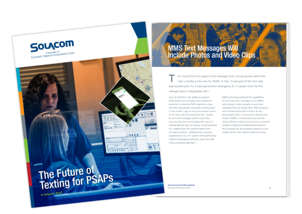 The Future of Texting for PSAPs, a Solacom brief